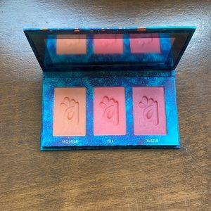 Alamar Cosmetics Colorete Blush Trio - Medium Tan